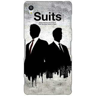 1 Crazy Designer SUITS Harvey Spector Back Cover Case For Sony Xperia Z3 C260478