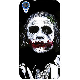 1 Crazy Designer Villain Joker Back Cover Case For HTC Desire 820 C280048