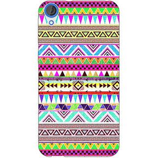 1 Crazy Designer Aztec Girly Tribal Back Cover Case For HTC Desire 820 C280051
