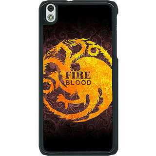 1 Crazy Designer Game Of Thrones GOT House Targaryen  Back Cover Case For HTC Desire 816 Dual Sim C390149