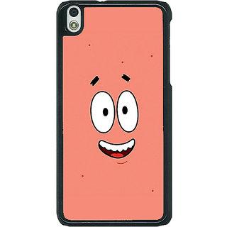 1 Crazy Designer Spongebob Patrick Back Cover Case For HTC Desire 816 Dual Sim C390465