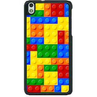 1 Crazy Designer Lego Back Cover Case For HTC Desire 816 C381442