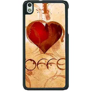 1 Crazy Designer Coffee Quote Back Cover Case For HTC Desire 816 Dual Sim C391362