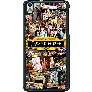 1 Crazy Designer FRIENDS Back Cover Case For HTC Desire 816G C400443