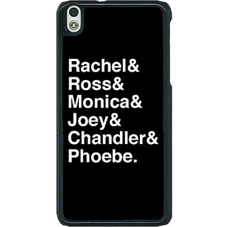 1 Crazy Designer FRIENDS Back Cover Case For HTC Desire 816G C400446