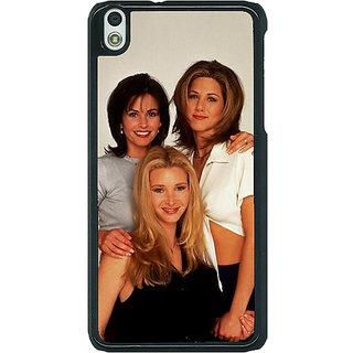 1 Crazy Designer FRIENDS Back Cover Case For HTC Desire 816G C400447