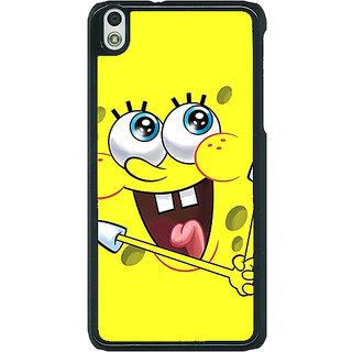 1 Crazy Designer Spongebob Back Cover Case For HTC Desire 816G C400460