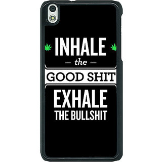 1 Crazy Designer Weed Quotes Back Cover Case For HTC Desire 816G C400500
