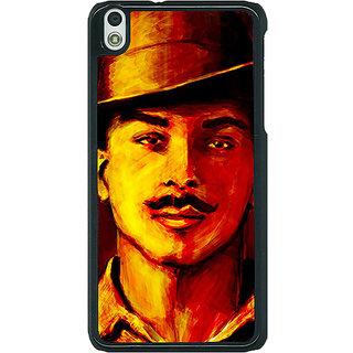 1 Crazy Designer Bollywood Superstar Bhagat Singh Back Cover Case For HTC Desire 816G C401094