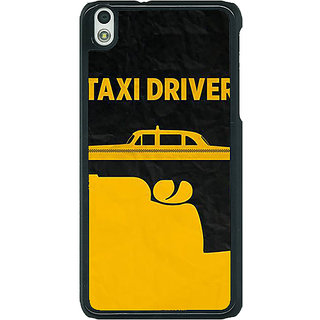 1 Crazy Designer Hollywood Taxi Driver Back Cover Case For HTC Desire 816G C401095