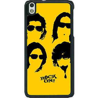 1 Crazy Designer Bollywood Superstar Rock On Back Cover Case For HTC Desire 816G C401098