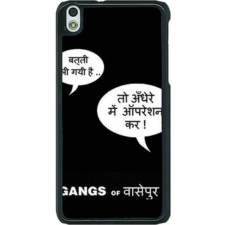 1 Crazy Designer Bollywood Superstar Gangs Of Wasseypur Back Cover Case For HTC Desire 816G C401101