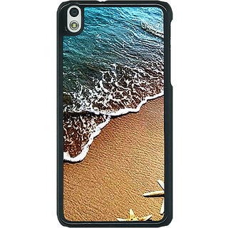1 Crazy Designer Summer Beach Back Cover Case For HTC Desire 816G C401139