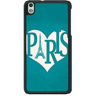 1 Crazy Designer Paris love Back Cover Case For HTC Desire 816G C401404