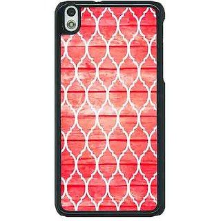 1 Crazy Designer Morocco Pattern Back Cover Case For HTC Desire 816G C401411