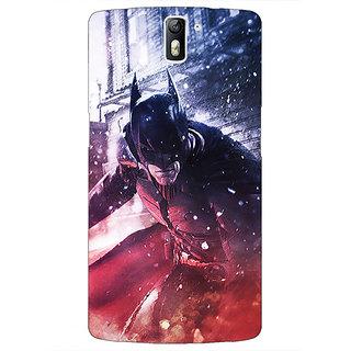 1 Crazy Designer Superheroes Batman Dark knight Back Cover Case For OnePlus One C410020