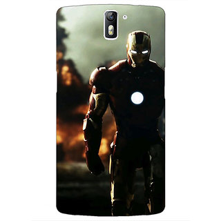 1 Crazy Designer Superheroes Ironman Back Cover Case For OnePlus One C410033