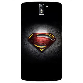 1 Crazy Designer Superheroes Superman Back Cover Case For OnePlus One C410037