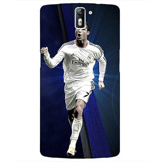 1 Crazy Designer Cristiano Ronaldo Real Madrid Back Cover Case For OnePlus One C410316