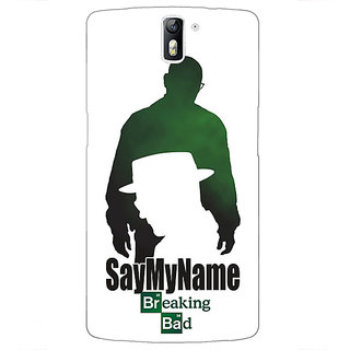 1 Crazy Designer Breaking Bad Heisenberg Back Cover Case For OnePlus One C410403