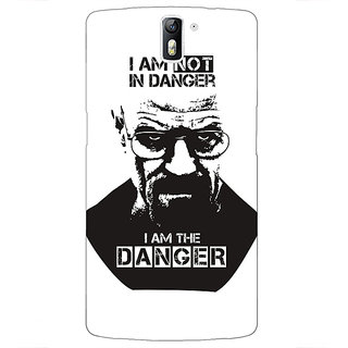 1 Crazy Designer Breaking Bad Heisenberg Back Cover Case For OnePlus One C410404
