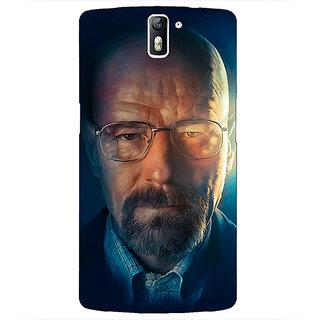 1 Crazy Designer Breaking Bad Heisenberg Back Cover Case For OnePlus One C410417