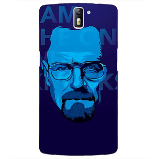 1 Crazy Designer Breaking Bad Heisenberg Back Cover Case For OnePlus One C410431
