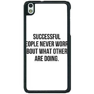 1 Crazy Designer Quotes Back Cover Case For HTC Desire 816G C401194