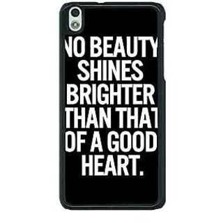 1 Crazy Designer Quote Back Cover Case For HTC Desire 816G C401474
