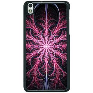 1 Crazy Designer Abstract Flower Pattern Back Cover Case For HTC Desire 816G C401524