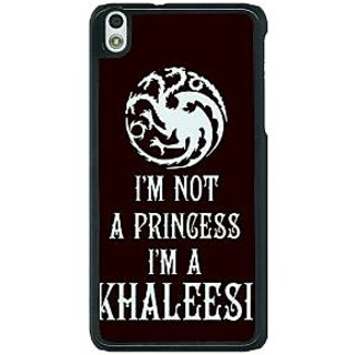 1 Crazy Designer Game Of Thrones GOT Princess Khaleesi Back Cover Case For HTC Desire 816G C401537