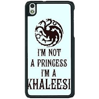 1 Crazy Designer Game Of Thrones GOT Princess Khaleesi Back Cover Case For HTC Desire 816G C401538