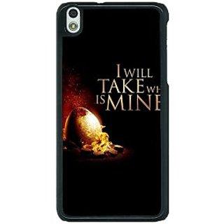 1 Crazy Designer Game Of Thrones GOT Khaleesi Daenerys Targaryen Back Cover Case For HTC Desire 816G C401543