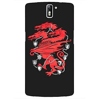 1 Crazy Designer Game Of Thrones GOT House Lannister  Back Cover Case For OnePlus One C410157
