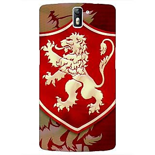 1 Crazy Designer Game Of Thrones GOT House Lannister  Back Cover Case For OnePlus One C410161