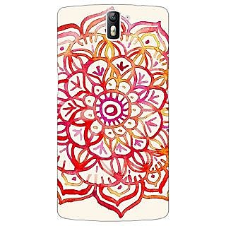 1 Crazy Designer Flower Floral Pattern Back Cover Case For OnePlus One C410204