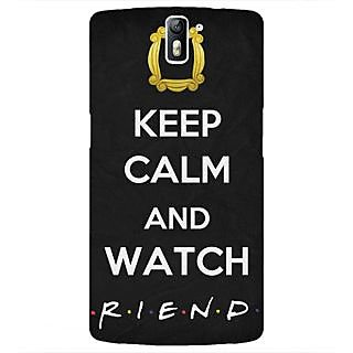 1 Crazy Designer TV Series FRIENDS Back Cover Case For OnePlus One C410344