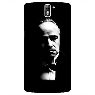 1 Crazy Designer The Godfather Back Cover Case For OnePlus One C410348