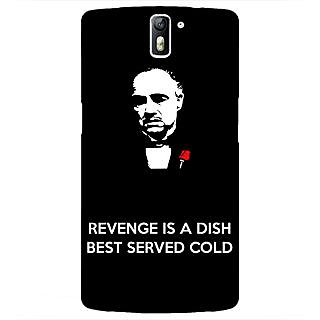 1 Crazy Designer The Godfather Back Cover Case For OnePlus One C410350