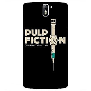 1 Crazy Designer Pulp Fiction Back Cover Case For OnePlus One C410352