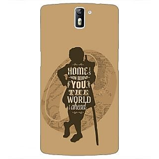 1 Crazy Designer LOTR Hobbit  Back Cover Case For OnePlus One C410368