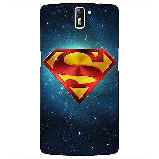 1 Crazy Designer Superheroes Superman Back Cover Case For OnePlus One C410383