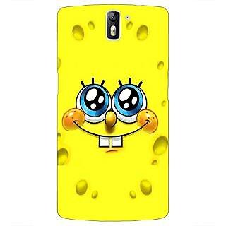 1 Crazy Designer Spongebob Back Cover Case For OnePlus One C410464