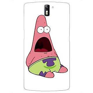 1 Crazy Designer Spongebob Patrick Back Cover Case For OnePlus One C410475