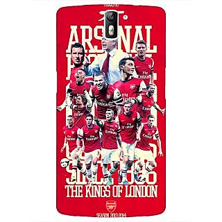 1 Crazy Designer Arsenal Back Cover Case For OnePlus One C410518
