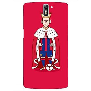 1 Crazy Designer Barcelona Messi Back Cover Case For OnePlus One C410536