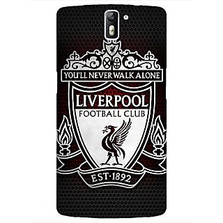 1 Crazy Designer Liverpool Back Cover Case For OnePlus One C410543