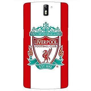 1 Crazy Designer Liverpool Back Cover Case For OnePlus One C410544
