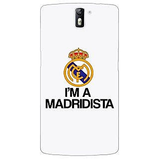 1 Crazy Designer Real Madrid Back Cover Case For OnePlus One C410599