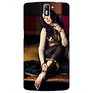 1 Crazy Designer Bollywood Superstar Nargis Fakhri Back Cover Case For OnePlus One C411049